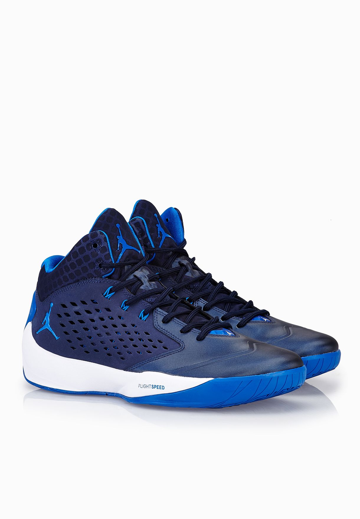 bdb5c659a1e7c4 Shop Nike blue Jordan Rising High 768931-402 for Men in Saudi ...
