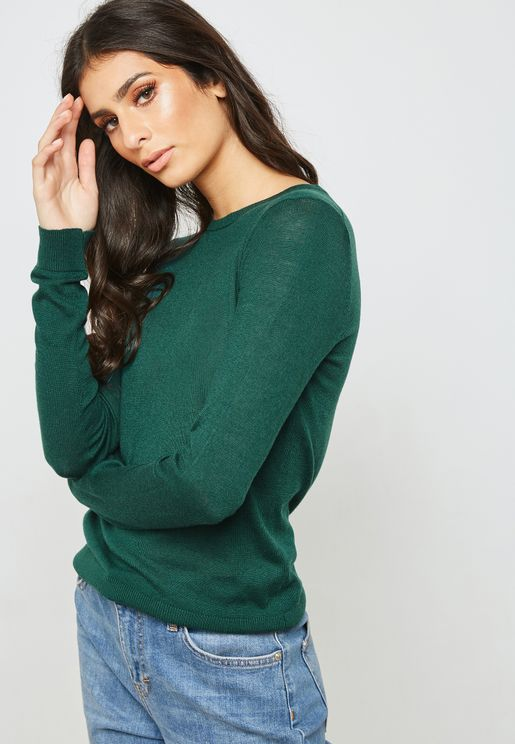 Crew Neck Longsleeve Sweater