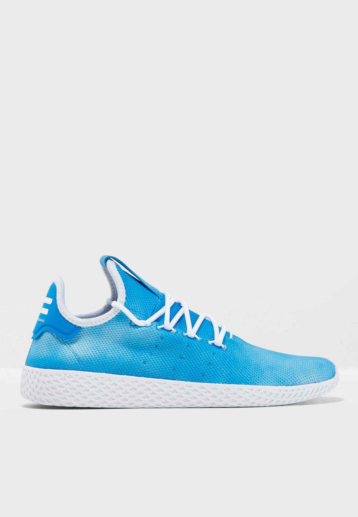 64b73c70dfd5b Shop adidas Originals blue Pharrell Williams Hu Holi Tennis DA9618 for Men  in UAE - AD478SH66PWZ