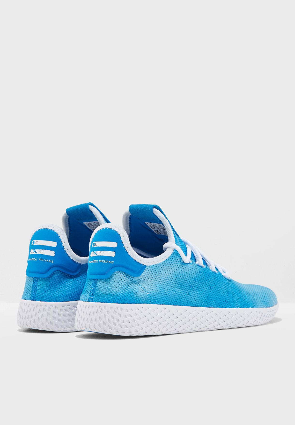 4bf3f2ee345a1 Shop adidas Originals blue Pharrell Williams Hu Holi Tennis DA9618 ...