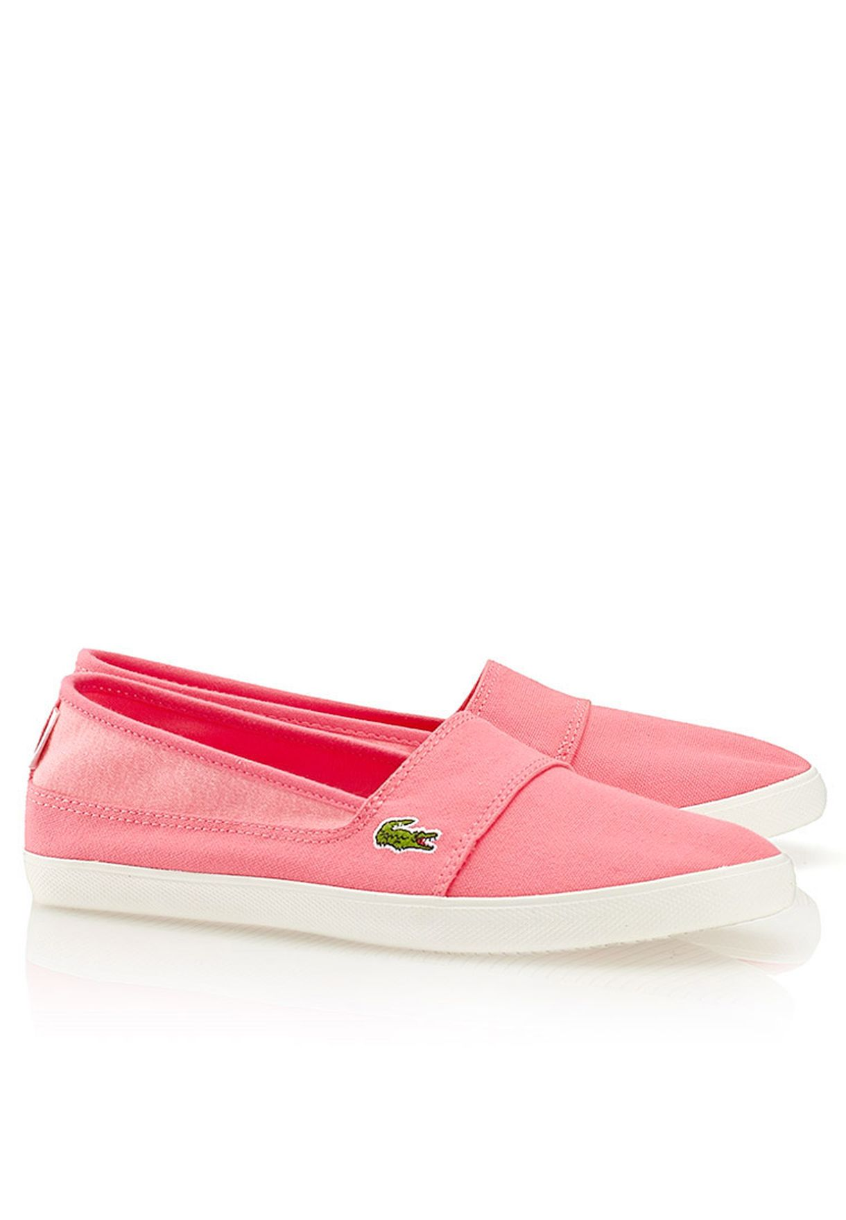 c9e42c9dc9c1a Shop Lacoste pink Marice ABB Slip Ons 27SPW0112-13C for Women in Bahrain -  LA014SH66MDP