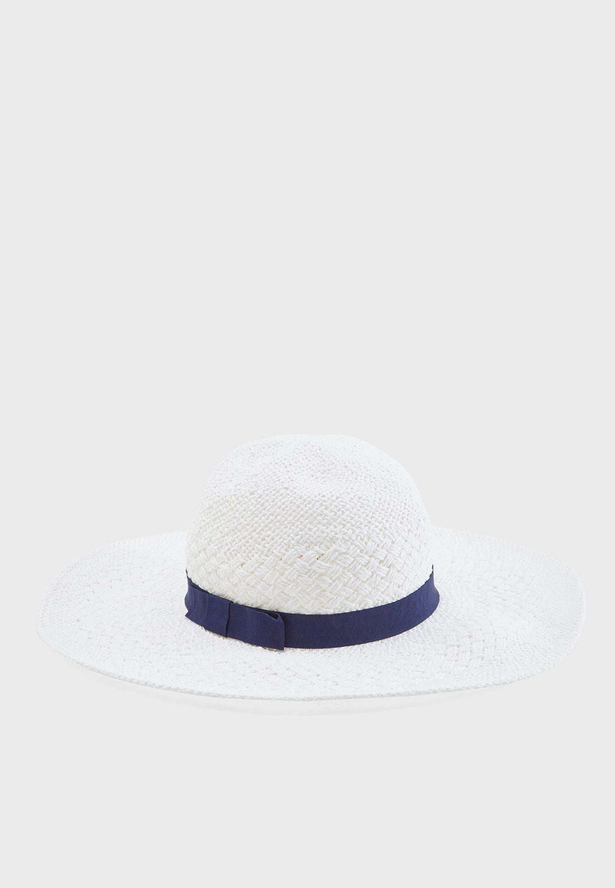6411cb05 Shop Dorothy Perkins white Floppy Hat 11236720 for Women in UAE ...