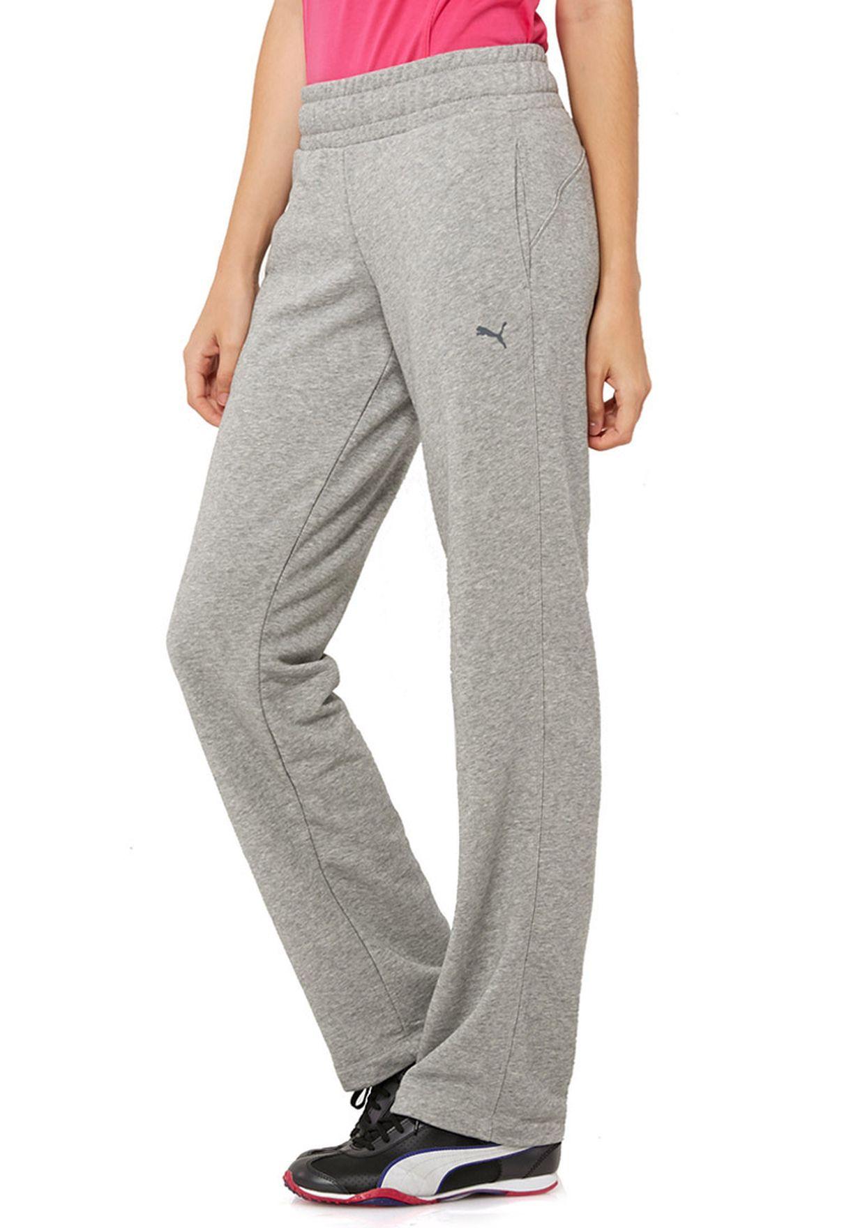 Shop PUMA grey Open Hem Sweatpants 82388903 for Women in Saudi -  PU020AT66UEF 1a8628037