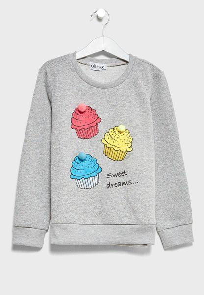 Little Graphic Sweatshirt
