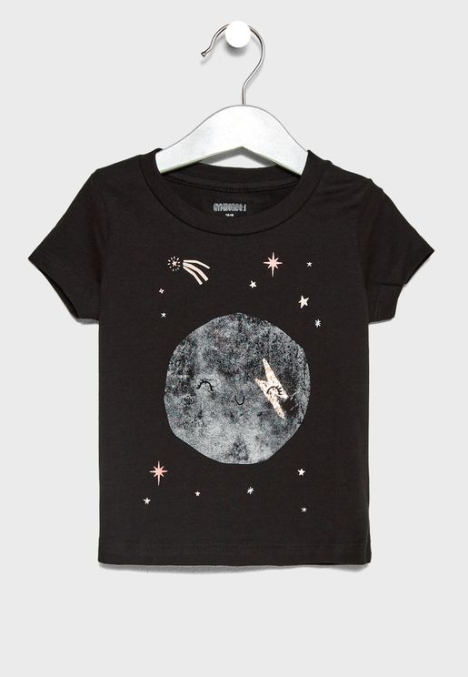 Infant Planets Graphic T-Shirt