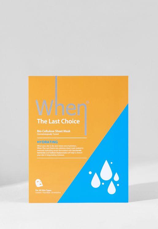 The Last Choice Hydrating Sheet Masks