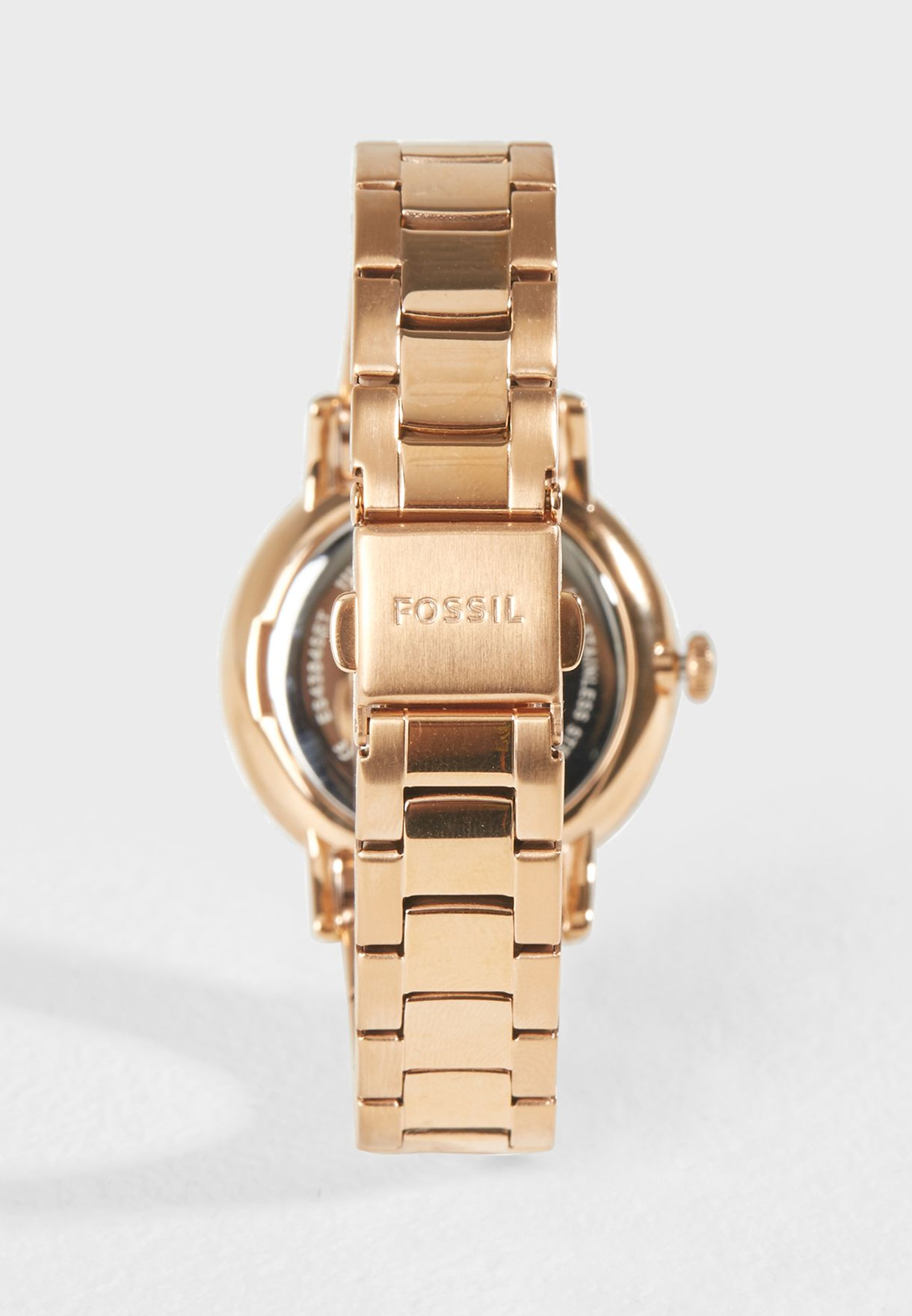 9fda53c98 Shop Fossil rosegold Fossil Watches ES4384SET for Women in UAE ...
