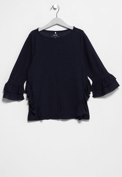Teen Nerit Frill T-Shirt