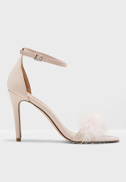 Strut Feather Sandals