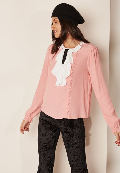 Neck Detail Blouse