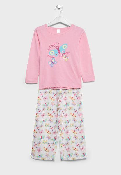 Teen T-Shirt + Pyjamas Set