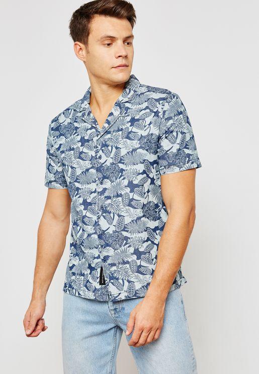 Oceanic Printed Shirt