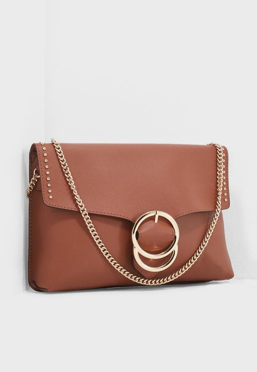 Double Ring Stud Clutch