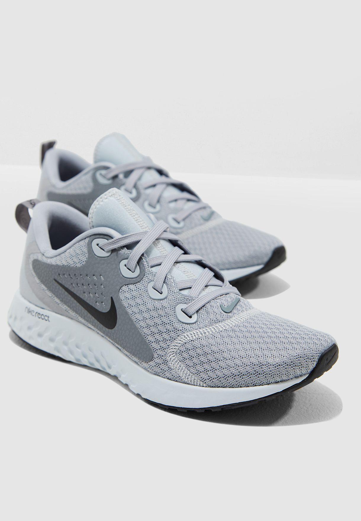 9323e48b92a8f Shop Nike grey Legend React AA1626-003 for Women in UAE - NI727SH56HID