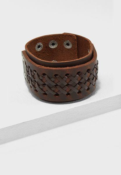 Leather Corset  Bracelet