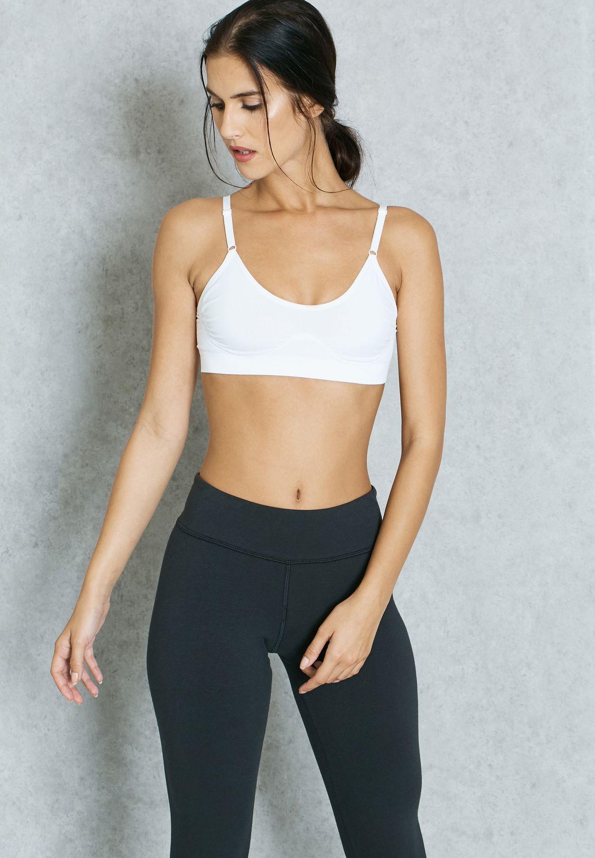 06433af29f5bb Shop Dorina white Seamless Sports Bra D17461A for Women in Bahrain ...