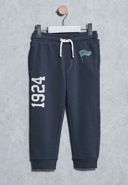 Kids Flecked Trousers