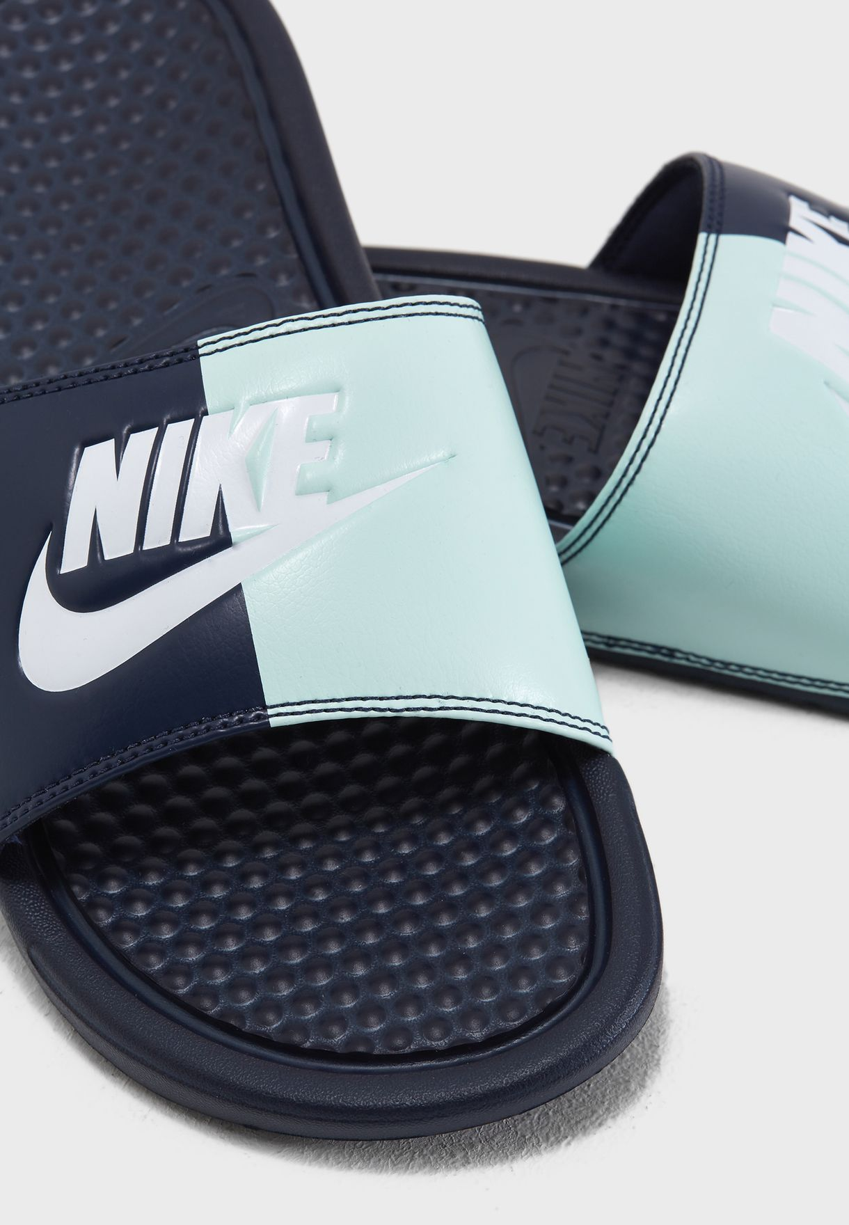 eea8e4982e5e Shop Nike multicolor Benassi JDI 343881-406 for Women in UAE ...