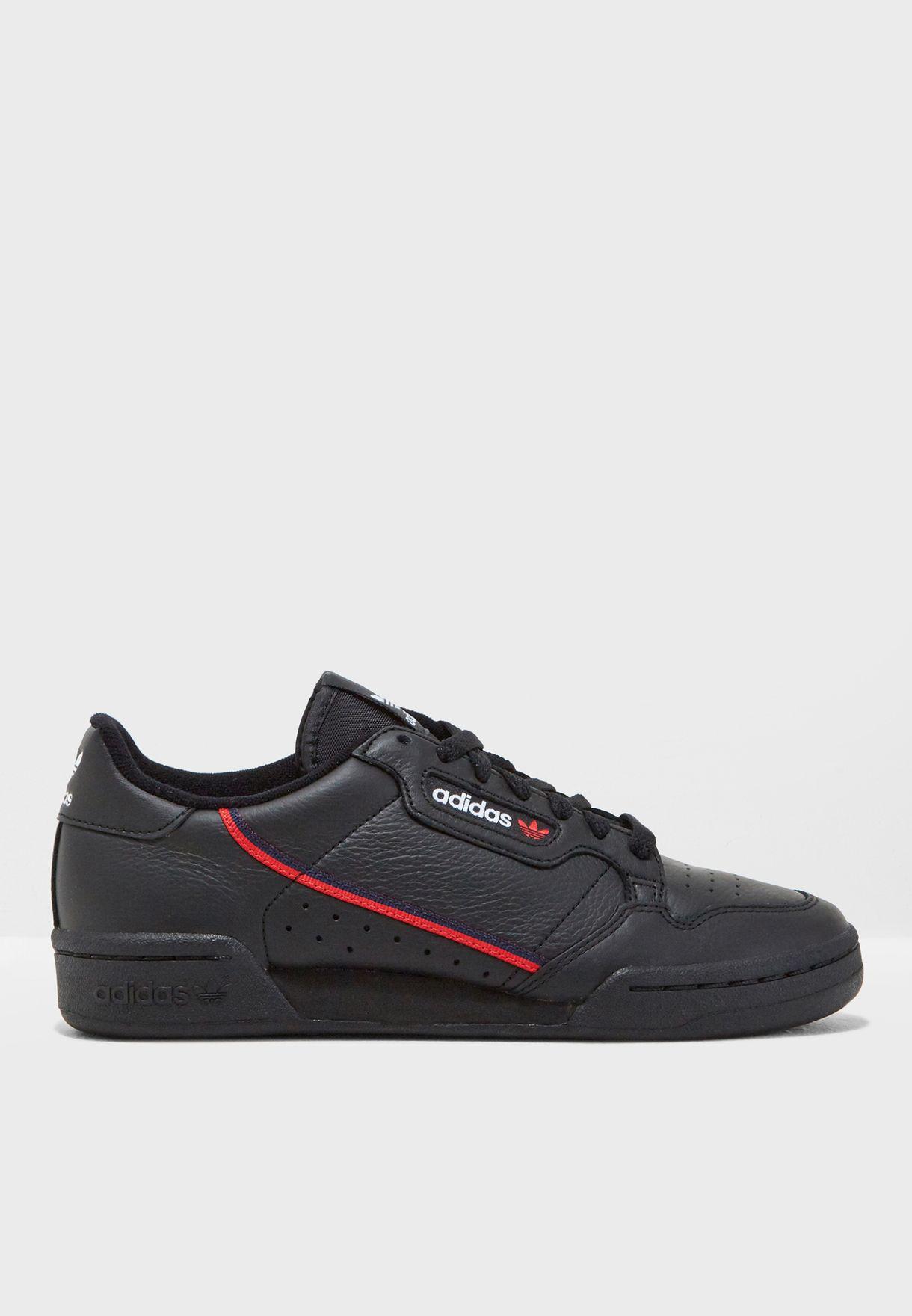 0795a05ba46d Shop adidas Originals black Continental 80 B41672 for Women in UAE ...