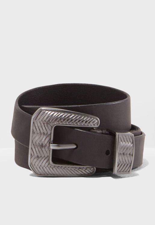 Diska Leather Belt