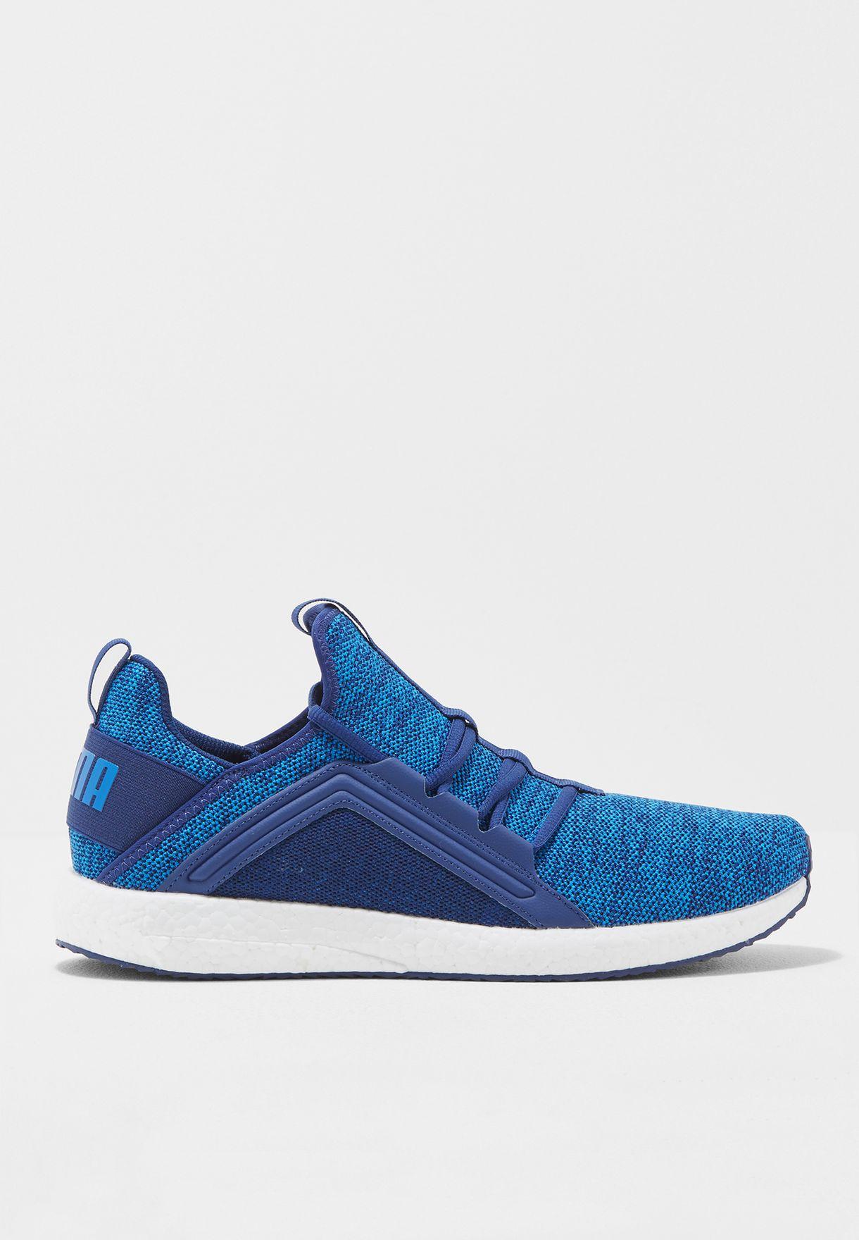 8745e84158d Shop PUMA blue Mega NRGY Knit 19037103 for Men in Kuwait - PU020SH56MYP