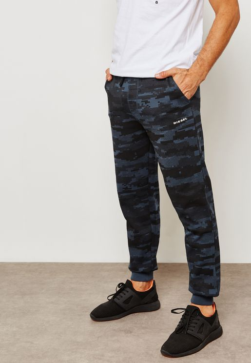 Peter Camo Sweatpants