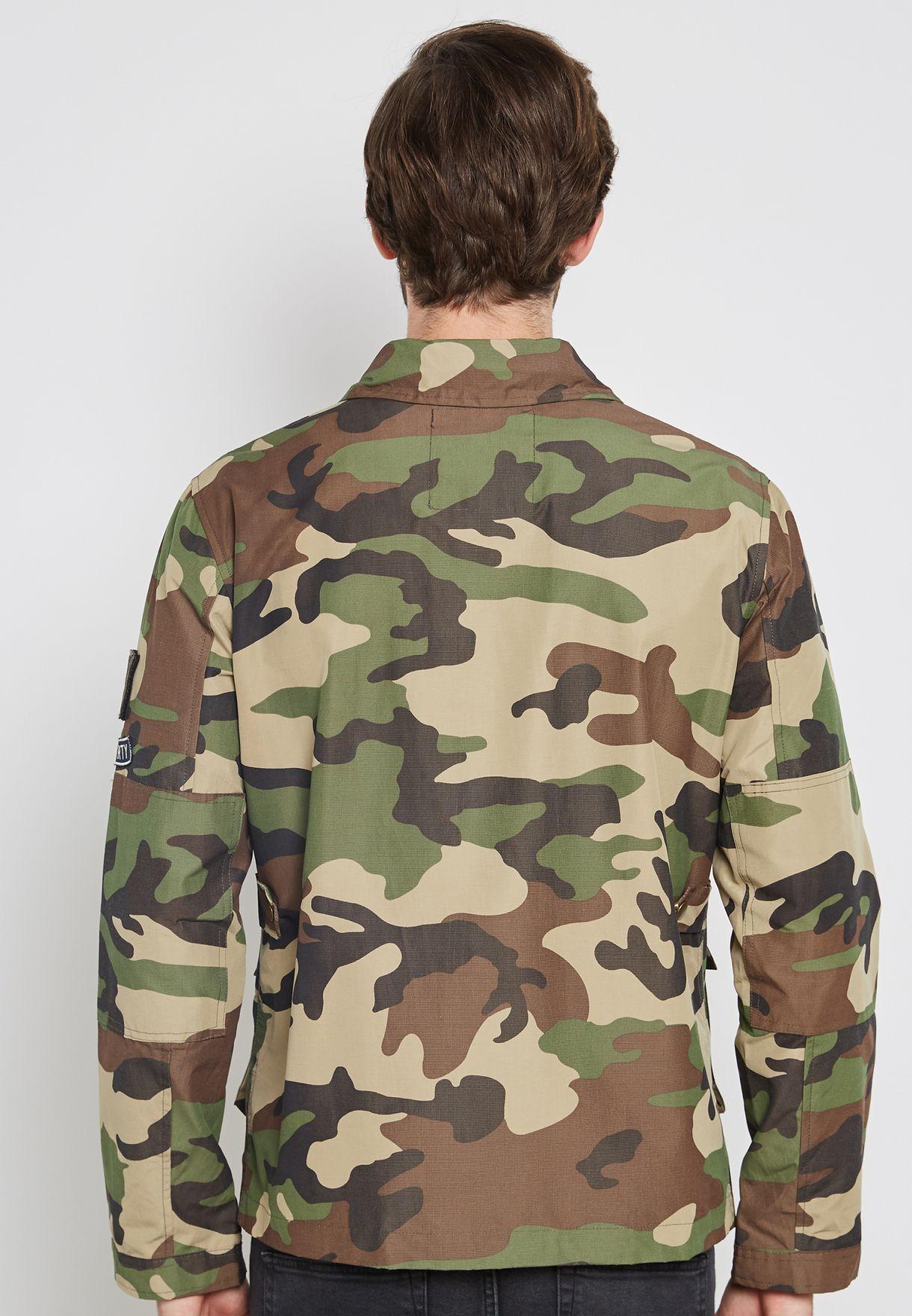 Crette Camo Jacket
