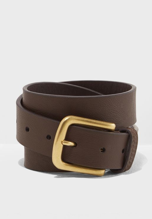 Allocated Leather Belt