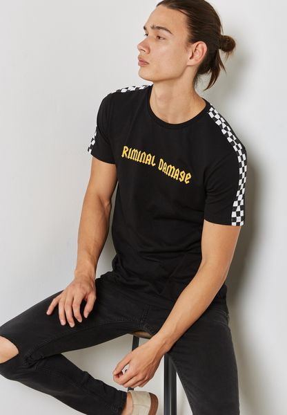 Chequer T-Shirt