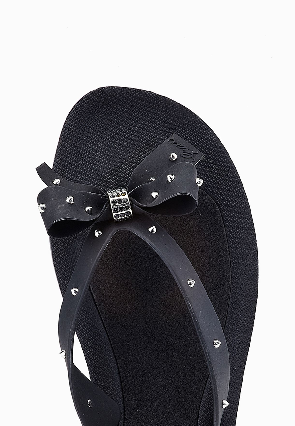 9c85eac83 Shop Guess black Bow Thong Sandals gwTRIXY-B for Women in UAE ...