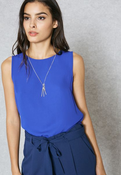 Necklace Tank Top
