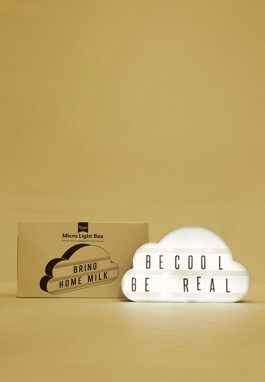 Cloud Micro Light Box