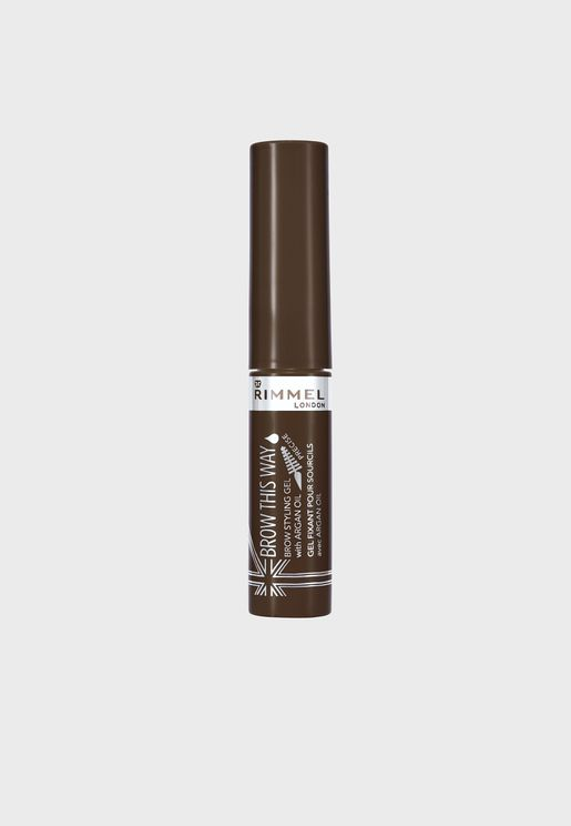 Brow This Way Eyebrow Gel with Argan Oil- 002 Medium Brown