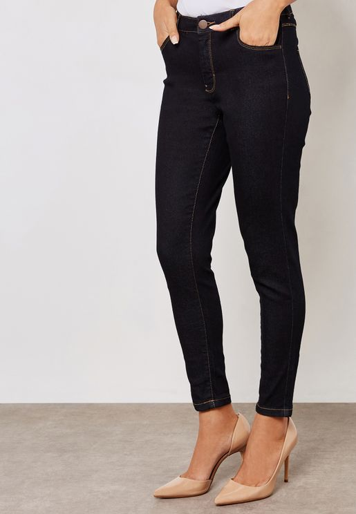 Ashley Mid Rise Skinny Jeans