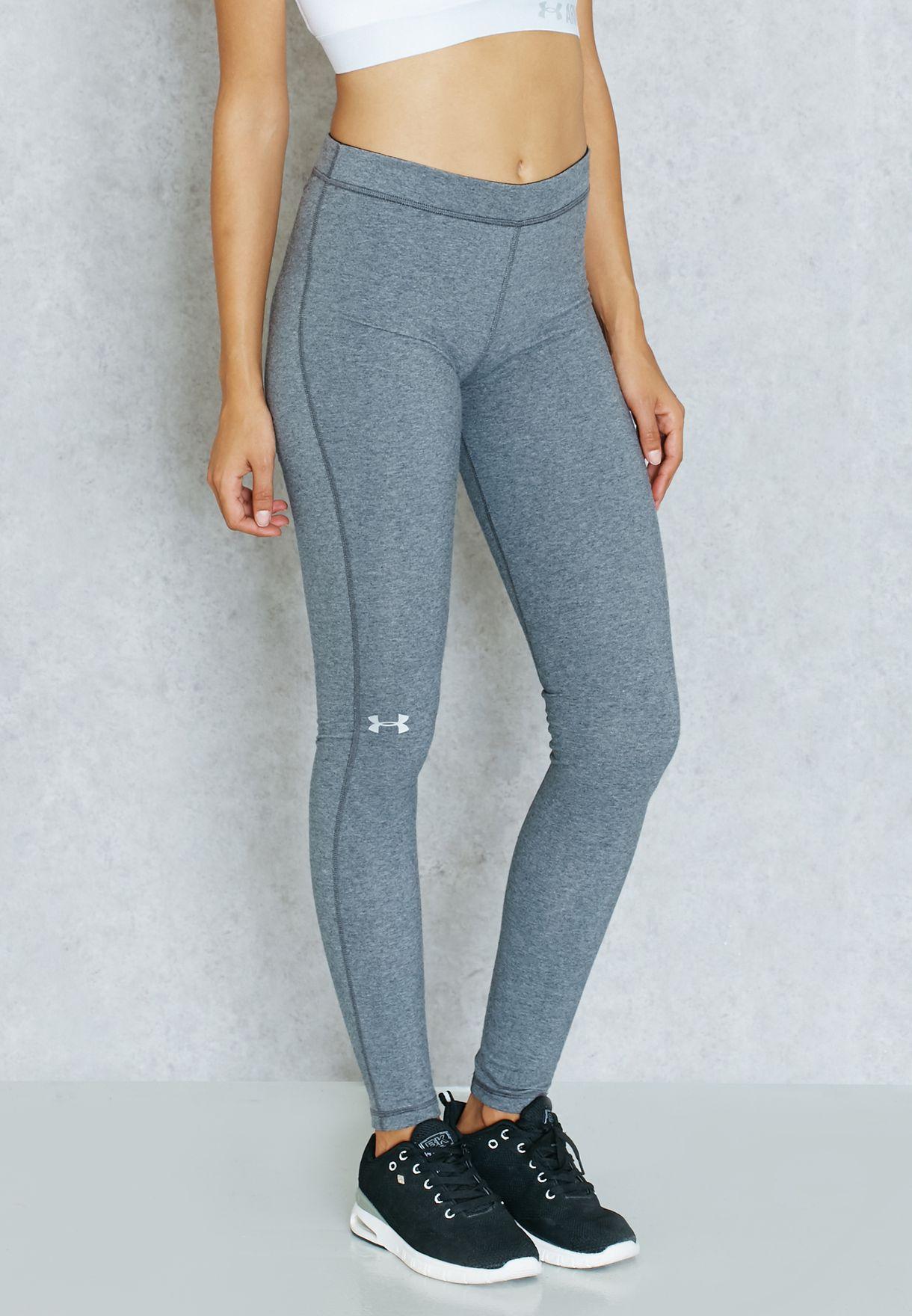 7f2060753d1d5 Shop Under Armour grey Favorite Legging 1287136-090 for Women in ...