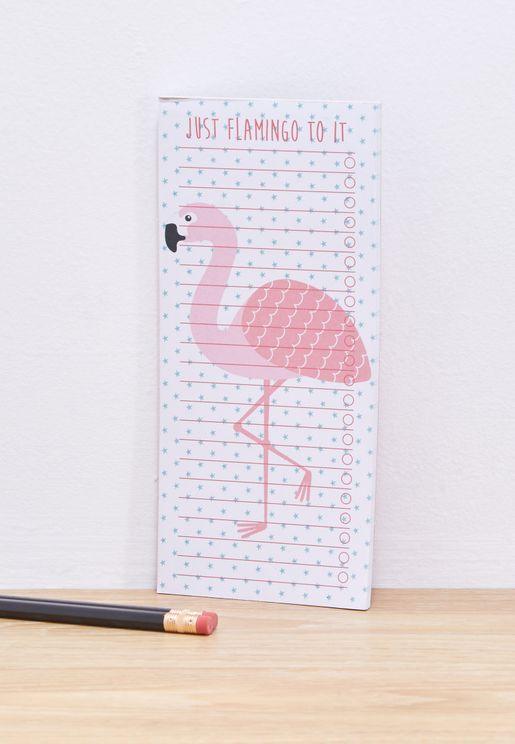 To Do List Flamingo Notepad