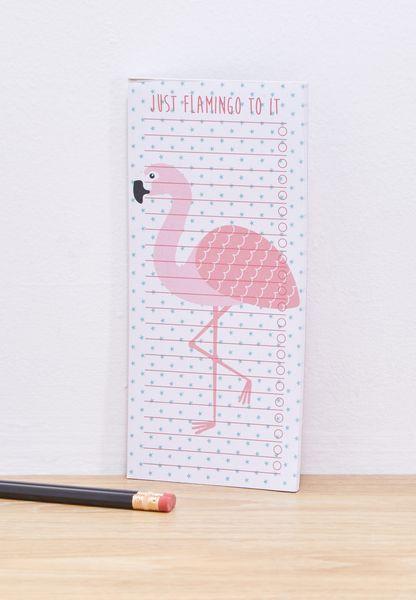 To Do List Flamingo Notepad