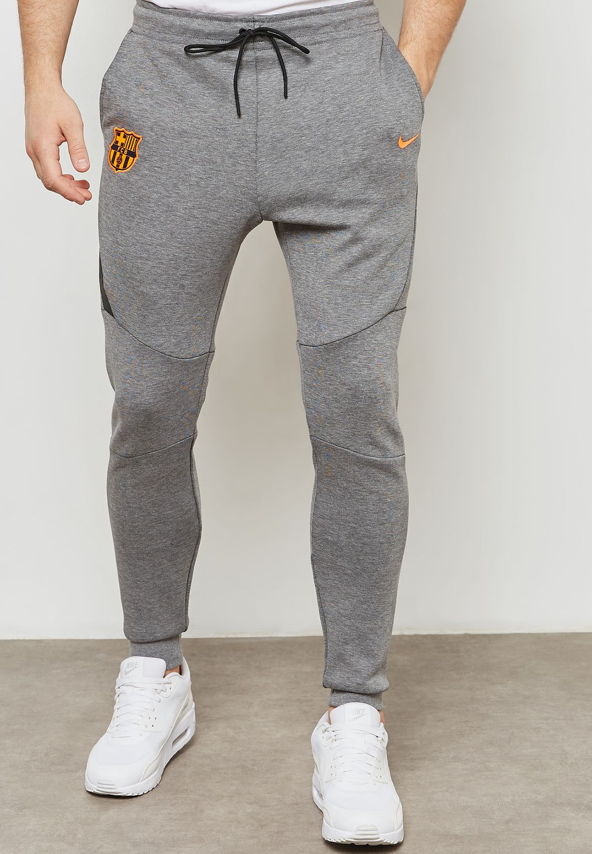 For Fc Nike Barcelona Shop Aa1935 Tech Grey 095 Sweatpants Fleece gR4nq