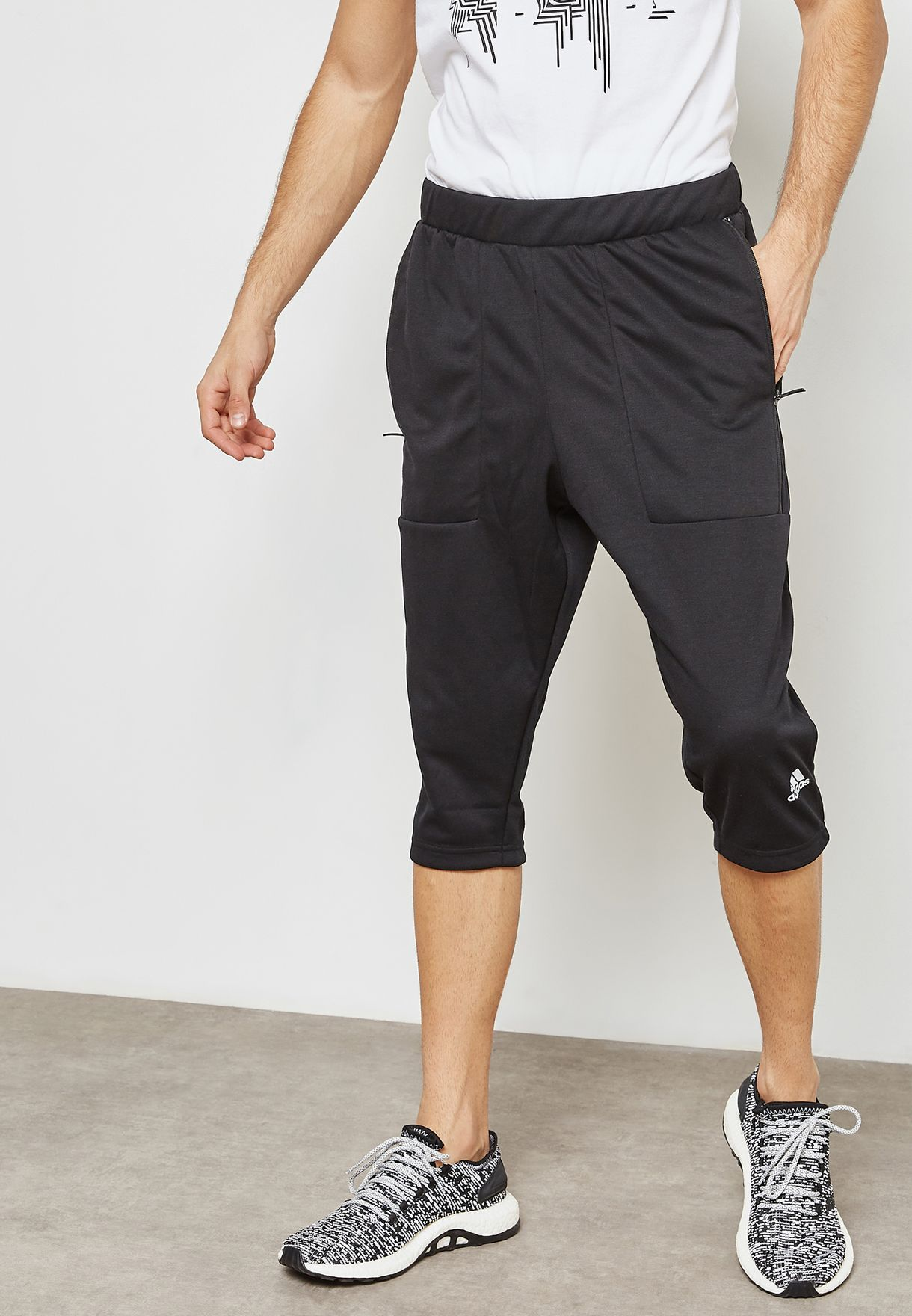 new style 0679c 1cd1d ID Drop Crotch 3 4 Sweatpants