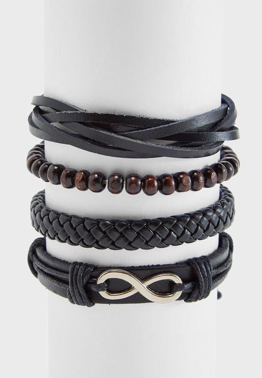 4 Pack Bracelets