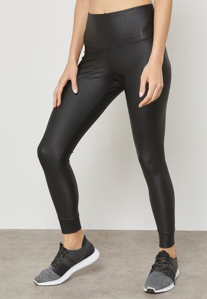 Metallic High Waist Leggings