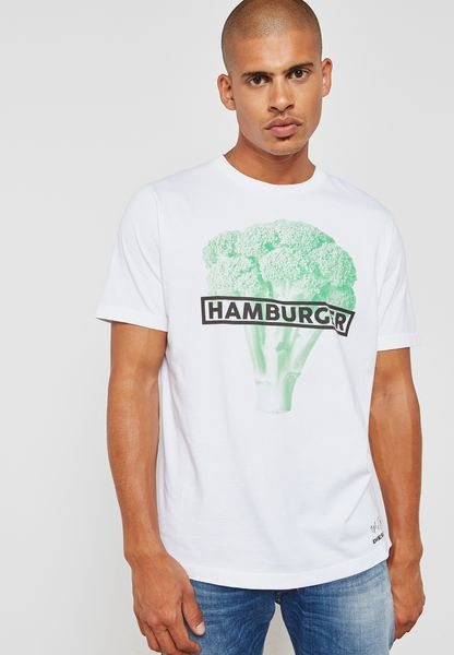 Hamburger Printed T-Shirt