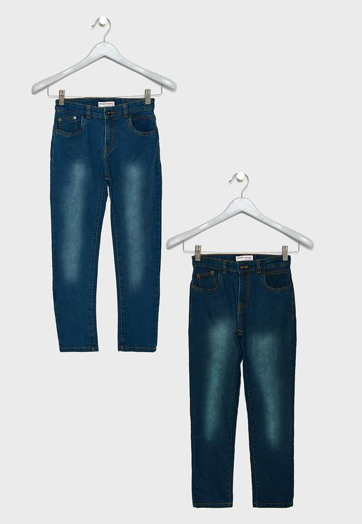 Teen 2 Pack Jeans