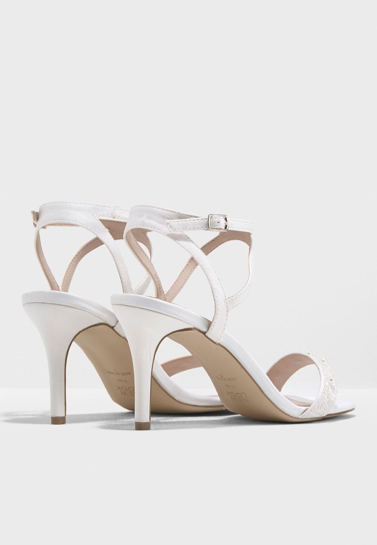 Satin Pearl Sandal