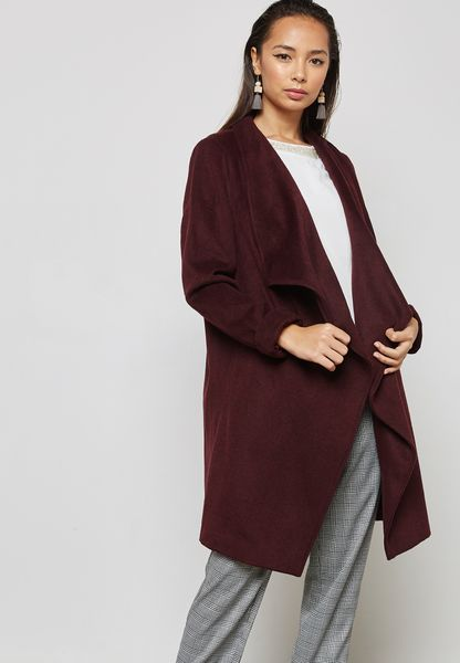 Longline Waterfall Coat