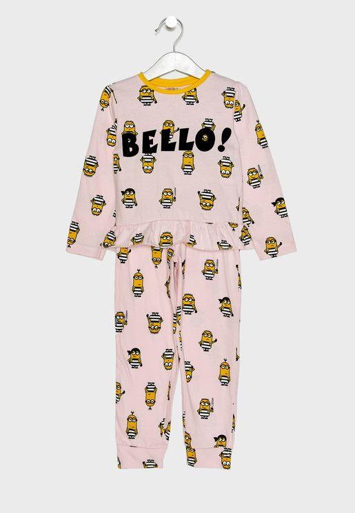 Kids Minion Pyjama Set