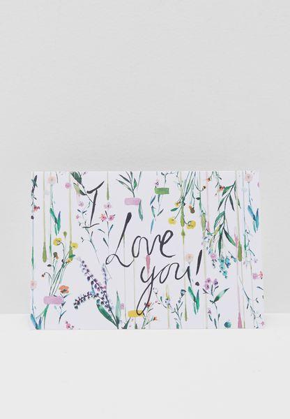 I Love You Fleur  Greeting Card