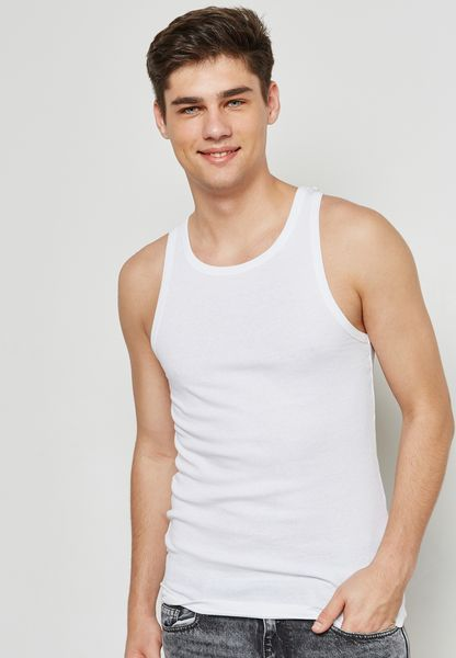 Essential Ribbed Vest