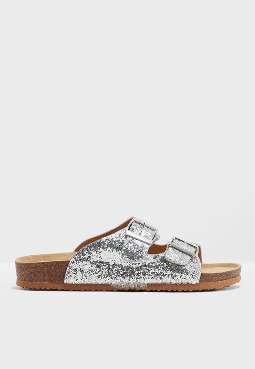 Silver Fantasy Sandals