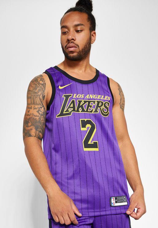 LA Lakers Lonzo Ball Swingman Jersey